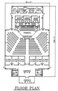 Small church building plans church plan 129 lth steel church plan 104 lth steel structures malvernweather Gallery