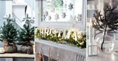 If you're yet to start your home Christmas beautifications, SL are on hand with five fresh ideas for modern yuletide decorations.