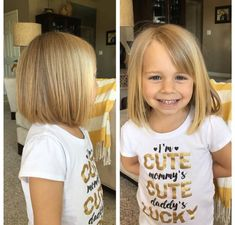 Chin Length Bob Cut For Little Girls 2017 2018 Hair Color Trends