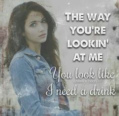 Justin Moore - You Look Like I Need a Drink  #JustinMoore…