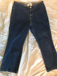 bc110751c Tommy Hilfiger Blue Jeans Stretch Denim No Front Pockets…@ebay @pinterest  #bluejeans