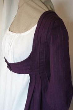 Once Upon A Time............: Regency Open Robe