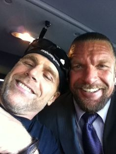 Shawn Michaels and Triple H
