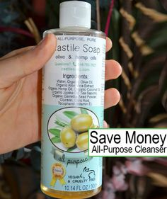 How To Use An All-Purpose Cleanser And Save Money