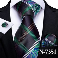 Green And Gold, Blue And White, Paisley Tie, Tie Set, Stripes Fashion, Gold Stripes, Pocket Square, Teal Blue, Cufflinks