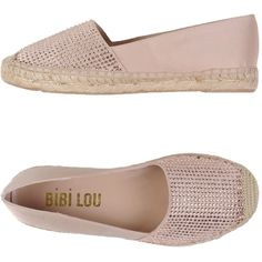 Bibi Lou Espadrilles ($90) ❤ liked on Polyvore featuring shoes, sandals, pink, rhinestone sandals, pink flat sandals, rhinestone flat sandals, rhinestone shoes and pink sandals