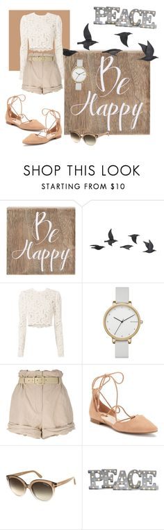 """""""Be happy!"""" by maargita ❤ liked on Polyvore featuring Belle Maison, Jayson Home, A.L.C., Skagen, Moschino, Jennifer Lopez, Tom Ford, Grandin Road and beigeandwhite"""