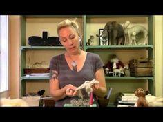 How to Needle Felt - Needle Felting Getting Started: Sarafina Fiber Art Episode 2 - YouTube