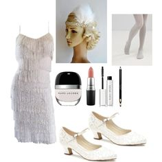 For the Next Halloween!:1920s Flapper by BlueSkyHorizons  ivanna1920 on Polyvore