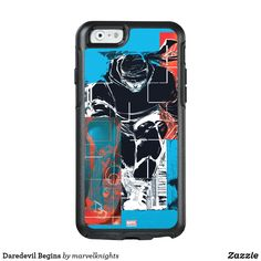 Daredevil Begins OtterBox Symmetry iPhone 8 Plus Case. Bright and cool Marvel Daredevil superhero designs to personalize as a gift for yourself, friends and families. Perfect unique gifts for your all birthdays needs. Comic Book Heroes, Comic Books, Iphone 8 Plus, Iphone 6, Superhero Design, Daredevil, Marvel Comics, Families, Crime