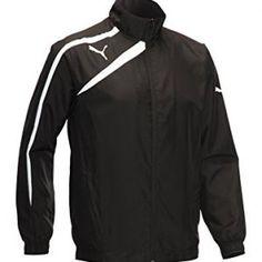 124b4576ba1d Puma Woven Golf Jacket Black Extra Large