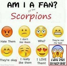 Klaus Meine. Rudolf Schenker. Matthias Jabs. James Kottak. Pawel Maciwoda. Scorpions. #iphone #emoticons #ilovethescorpions