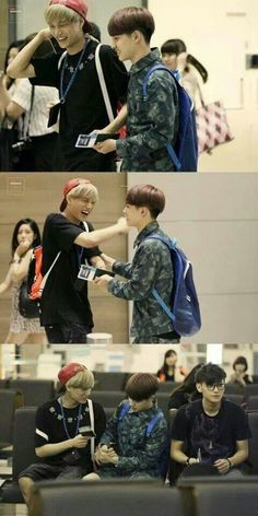 These two♡ Kai and kyungsoo. Then you have Tao