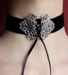 Steampunk neck corset choker by Pinkabsinthe.deviantart.com on @DeviantArt