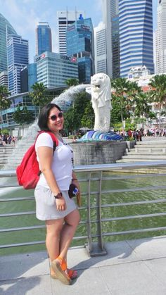Lion in Singapore
