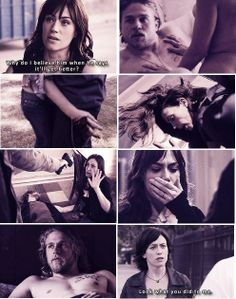I love Jax and Tara  but he never brought any peace to her life. He destroyed it.