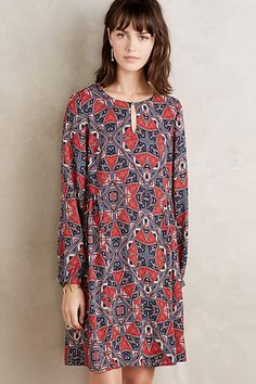 Efflorescence Swing Dress - anthropologie.com