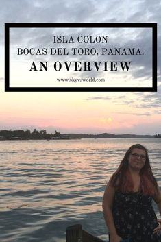 Isla Colon, also known as Bocas Town, is the main island of Bocas del Toro, Panama. Here's what to eat, see, and do while on Isla Colon, Bocas del Toro! Travel in Central America.