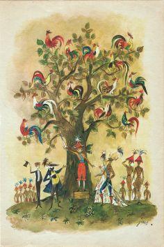 Tryumf Pana Kleksa (Tryumph of Mr. Inkblot) Illustration by J. M. Szancer