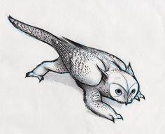 owl griffin   Owl Griffin by RobtheDoodler on deviantART
