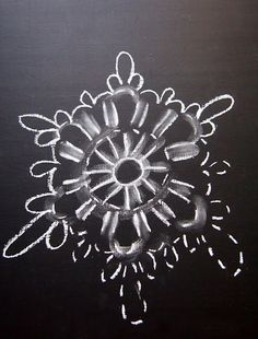 omⒶ KOPPA: Virkattu lumihiutale - kuvaOHJE varioitavaksi