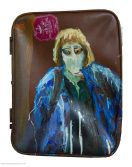 Danny Mooney 'Summer Holiday' Oil painting on suitcase lid 54 x Figure Painting, Oil On Canvas, Suitcase, Holiday, Summer, Vacations, Painted Canvas, Holidays, Summer Recipes