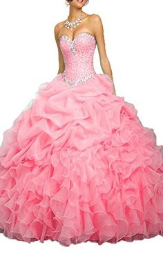 4a5ac31fa PromQueen Prom Queen Womens Beaded Ball Gown Sweet 16 Dresses Princess Quinceanera  Dresses    Read more at the image link.
