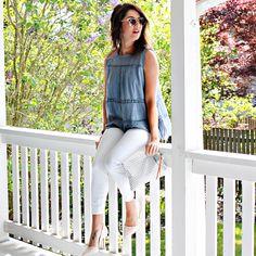 Summer Loft Stop - Jillian Harris Work Wardrobe, Summer Wardrobe, Loft Style, My Style, Jillian Harris, Spring Summer, Spring Style, Spring Fashion, Outfits