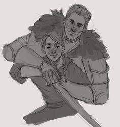 Cullen and Inquisitor's daughter...omg...just staahp. (By turiannn)