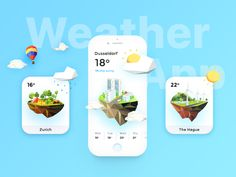 Weather App Daily UI