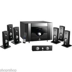 Home Theater Systems: Pyle Pt798sba 7.1-Channel Home Theater System With Bluetooth New -> BUY IT NOW ONLY: $204.18 on eBay!