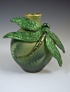 Bonnie Belt Dragonfly Bottle c. 2012