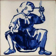 Azulejo de PAULA RÊGO - Mulher|Mãe!  – f. Diko Verissimo