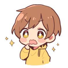 Kawaii Anime, Anime Girl Neko, Cute Anime Chibi, Anime Child, Cute Boy Drawing, Cartoon Girl Drawing, Anime Drawings Sketches, Cute Drawings, Anime Boy Zeichnung
