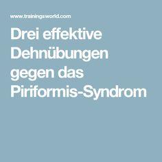Drei effektive Dehnübungen gegen das Piriformis-Syndrom