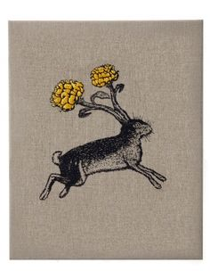 ' Lapin ' Embroidery