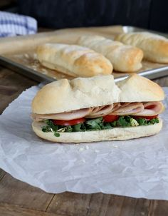 Subway-Style Gluten Free Sandwich Rolls: soft and squishy!!