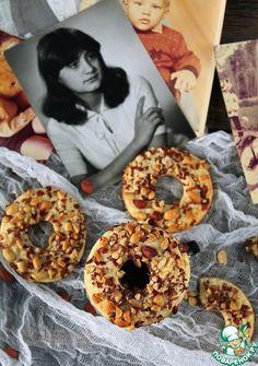 Песочные кольца с арахисом - кулинарный рецепт