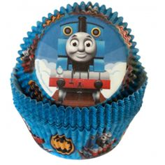Cupcake Cups - Licensed Thomas the Train (24)