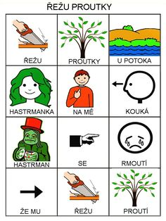Pro Šíšu: Jarni basnicky Pictogram, Education, Comics, Learning, Languages, Jar, Autism, Idioms, Studying