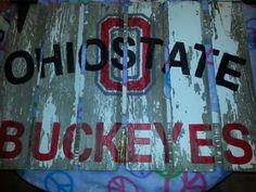 Ohio State. Old Barn Door. DIY