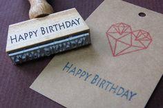 Bild: Stempel - Happy Birthday