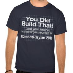 >>>Coupon Code          	You Did Build That, Romney/Ryan Anti-Obama T Shirt           	You Did Build That, Romney/Ryan Anti-Obama T Shirt We have the best promotion for you and if you are interested in the related item or need more information reviews from the x customer who are own of them befo...Cleck Hot Deals >>> http://www.zazzle.com/you_did_build_that_romney_ryan_anti_obama_t_shirt-235461744155301422?rf=238627982471231924&zbar=1&tc=terrest