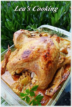 """Lea's Cooking: """"Perfect Turkey Recipe""""  If you are looking for the best juicy turkey recipe, this is it!!! You found it:) Now you can make the best turkey dinner for your family."""