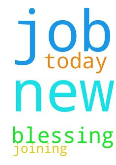Joining new job today blessing prayer - Joining new job today blessing prayer Posted at: https://prayerrequest.com/t/EJq #pray #prayer #request #prayerrequest
