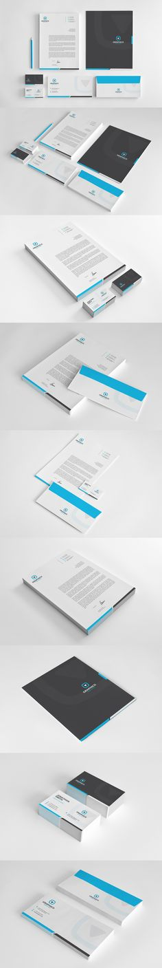 Corporate Stationery vol.1 on Behance