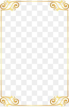 Chinese Style Gold Border Pngbb Pinterest Gold