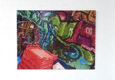 Emerging Melbourne artist Dylan Brookes