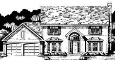 Eplans Colonial House Plan - Four Bedroom Colonial - 1971 Square Feet and 4 Bedrooms from Eplans - House Plan Code HWEPL73885