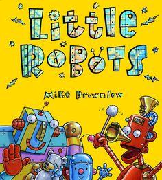 heel leuk boek over verschillende soorten robots (deze heb ik zelf)